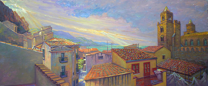Clouds Over Cefalu
