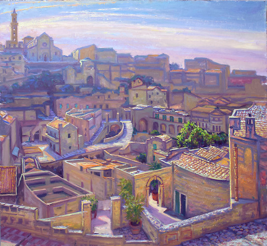 Morning In Matera