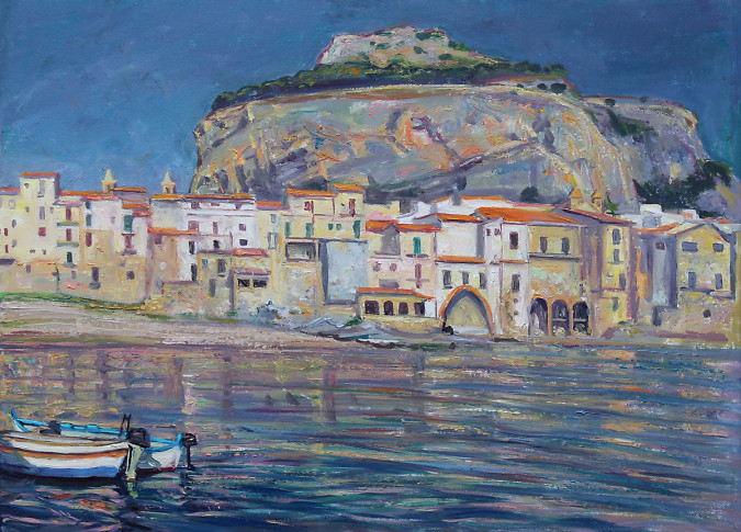 Waterfront, Cefalu, Sicily