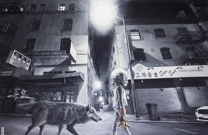 We Walk Like A Ghost
