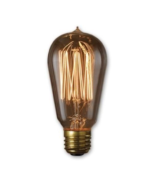 Bulbrite 40W Nostalgic Edison Squirrel Cage-style Bulb