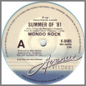Summer Of '81 by Mondo Rock