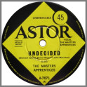 Undecided B/W Wars Or Hands Of Time by The Masters Apprentices