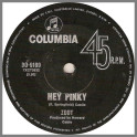 Hey Pinky B/W Strange Things by Zoot