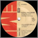 Love You Babe B/W Shake Me Babe by Lobby Loyde and The Coloured Balls