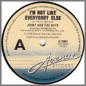 I'm Not Like Everybody Else B/W Wild Boys by Jimmy And The Boys