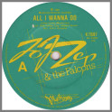 All I Wanna Do B/W Too Hot To Touch by Jo Jo Zep and the Falcons