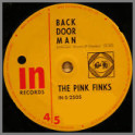 Back Door Man B/W Something Else by The Pink Finks