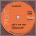 Jumping Jack Flash Part 1 B/W Jumping Jack Flash Part 2 by King Harvest