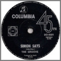 Simon Says B/W With This Ring by The Groove