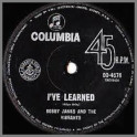 I've Learned B/W Almost Eighteen by Bobby James & The Vibrants