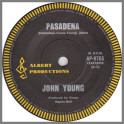 Pasadena B/W Better Go Back To Bed by John Paul Young