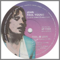 Fool In Love B/W It's All Over by John Paul Young