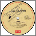Spain B/W Money To Burn by John Paul Young