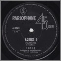 Lotus I (I'll Be Gone) B/W Epoch by Lotus
