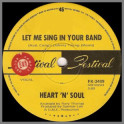 Let Me Sing In Your Band B/W Lights Of Cincinnatti by Heart 'N' Soul