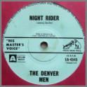 Night Rider B/W Blue Mountains by The Denvermen