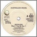 Reckless by Australian Crawl