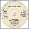 Reckless by Australian Crawl