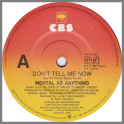 Don't Tell Me Now by Mental As Anything