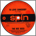 To Love Somebody B/W Close Another Door by The Bee Gees