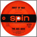 First Of May B/W Lamplight by The Bee Gees