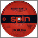 Massachusetts  (The Lights Went Out In) B/W Barker Of The UFO by The Bee Gees