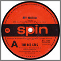 My World B/W On Time by The Bee Gees