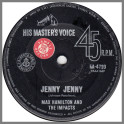 Jenny Jenny B/W Shake With Me by Max Hamilton & The Impacts