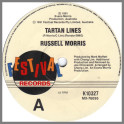Tartan Lines B/W Over Excited by Russell Morris