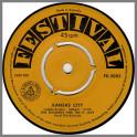 Kansas City B/W I Wanna Love You by Dig Richards