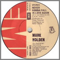 Never Gonna Fall In Love Again by Mark Holden