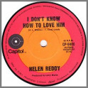 I Don't Know How to Love Him by Helen Reddy