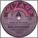 Affair Of The Heart by Rick Springfield