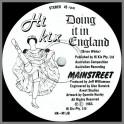 Doing It In England B/W std by Mainstreet