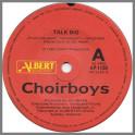 Talk Big B/W I'm Not Your Hero by Choirboys