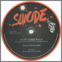 Baby Come Back B/W  Mr. Record Man by The Survivors