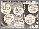 Trade Union Club, Surry Hills. NSW