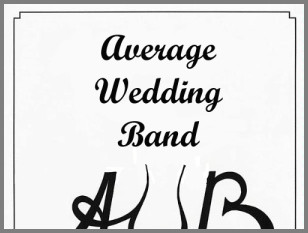 Average Wedding Band