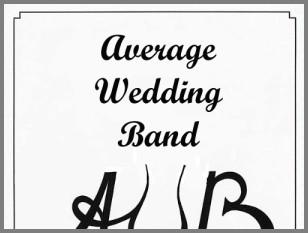 Average Wedding Band