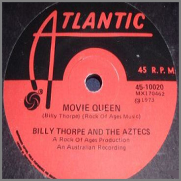 Movie Queen b/w Mame by Billy Thorpe and The Aztecs