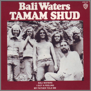 Bali Waters by Tamam Shud