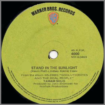 Stand In The Sunlight b/w I Love You All  by Tamam Shud
