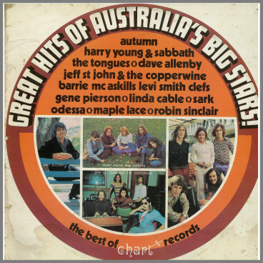 Great Hits of Australias Big Stars by Harry Young & SABBATH