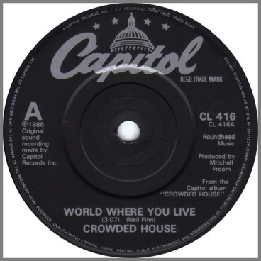 World Where You Live by Crowded House