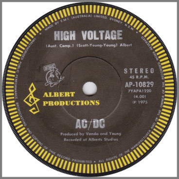 High Voltage B/W Soul Stripper by AC/DC