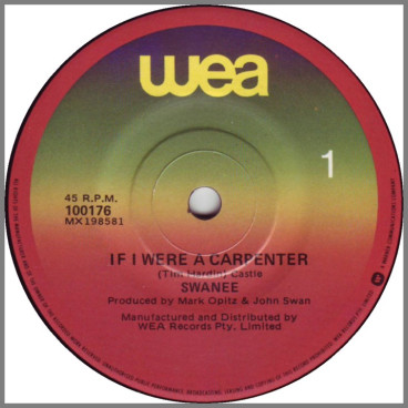 If I Were A Carpenter by Swanee