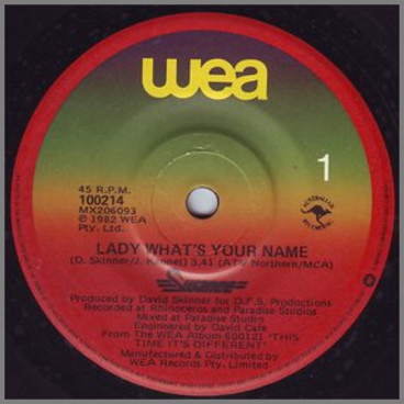 Lady What's Your Name by Swanee
