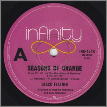 Seasons Of Change B/W On The Day That I Die by Blackfeather