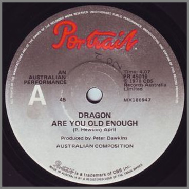 Are You Old Enough by Dragon